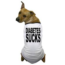 Diabetes Sucks Dog T-Shirt