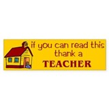 Thank A Teacher Bumper Sticker (10 pk)