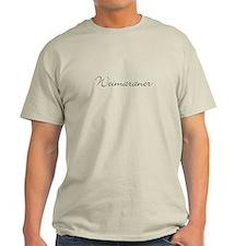 Weimaraner T-Shirt (front & back)