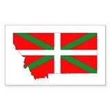 Montana Basque Rectangle Decal