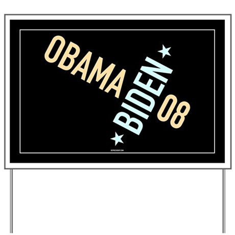 Twisted Obama Biden Yard Sign