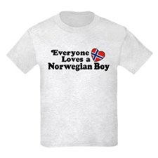 Everyone Loves a Norwegian Boy T-Shirt