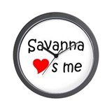Savanna Wall Clock