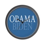 Obama-Biden Wall Clock
