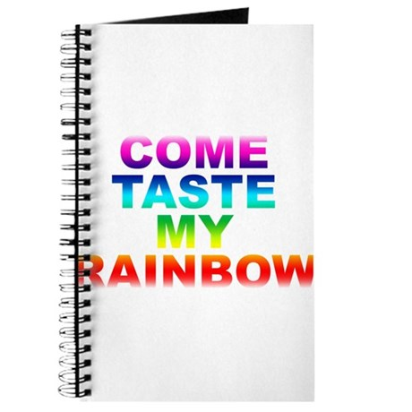 Come Taste My Rainbow Journal