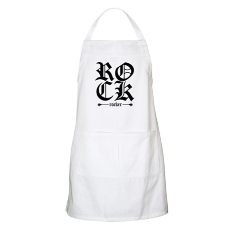 Rock Rocker BBQ Apron