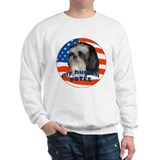 Shih Tzu with American Flag Jumper