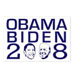 Obama Biden 2008 (Pack of 8 Postcards)