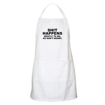 Shit Happens BBQ Apron