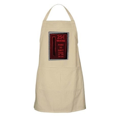 25 Cent Whore BBQ Apron