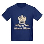 King of the Dance Floor Kids Dark T-Shirt