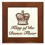 King of the Dance Floor Framed Tile