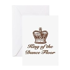 King of the Dance Floor Greeting Card