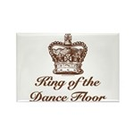 King of the Dance Floor Rectangle Magnet (10 pack)