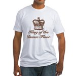 King of the Dance Floor Fitted T-Shirt