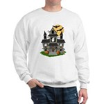 Halloween Haunted House Ghosts Sweatshirt