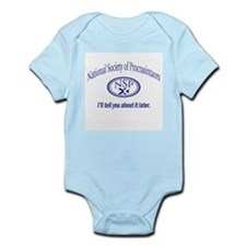 Procrastinator Infant Bodysuit