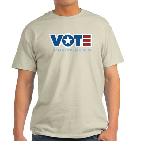 VOTE Obama Biden Light T-Shirt
