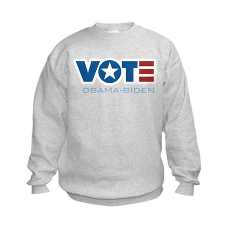 VOTE Obama Biden Kids Sweatshirt