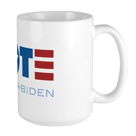 VOTE Obama Biden Large Mug