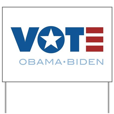 VOTE Obama Biden Yard Sign