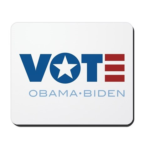 VOTE Obama Biden Mousepad