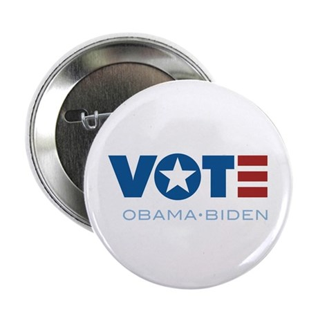 "VOTE Obama Biden 2.25"" Button (10 pack)"
