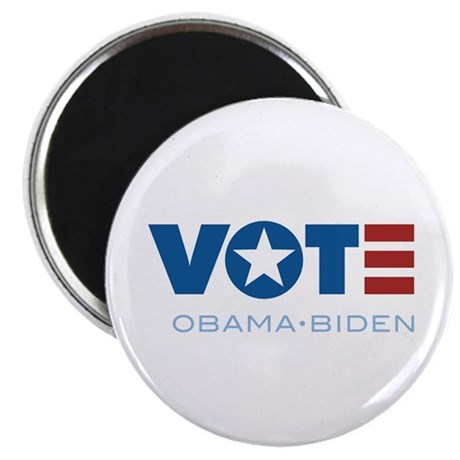 "VOTE Obama Biden 2.25"" Magnet (100 pack)"