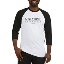 Miskatonic Faculty Baseball Jersey