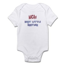 Micah - Best Little Brother Infant Bodysuit