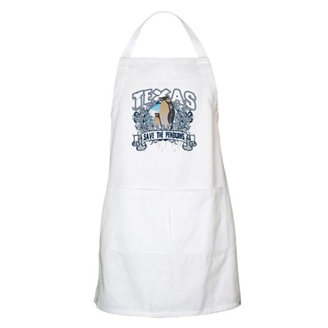 Save the Penguin Texas BBQ Apron