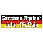 Germans Against McCain bumper sticker