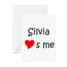 Silvia Greeting Cards (Pk of 10)