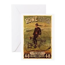 Howe Bikes & Trikes Greeting Cards (Pk of 20)
