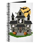 Halloween Haunted House Ghosts Journal