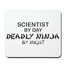Scientist Deadly Ninja by Night Mousepad