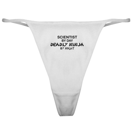 Scientist Deadly Ninja by Night Classic Thong