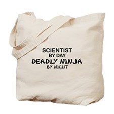 Scientist Deadly Ninja by Night Tote Bag