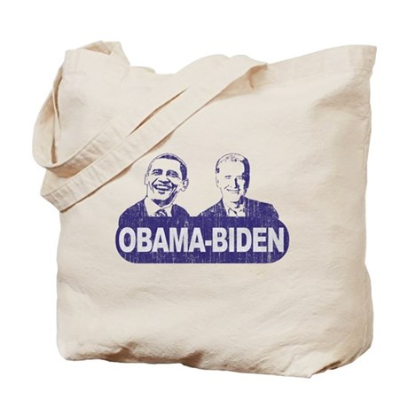 Vintage Obama-Biden Tote Bag