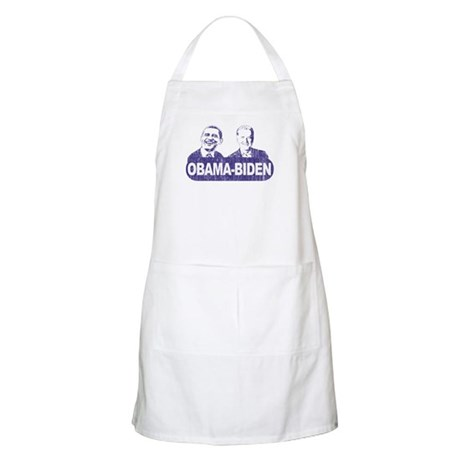 Vintage Obama-Biden BBQ Apron