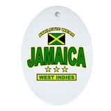 Jamaica Oval Ornament