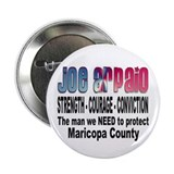 "Sheriff Joe Arpaio the man we 2.25"" Button (100 pa"