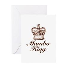 Mambo King Greeting Card