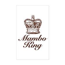Mambo King Rectangle Decal