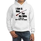 """Rifle For My Wife"" Hoodie Sweatshirt"