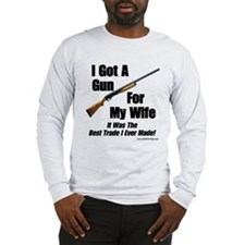 """Shotgun For My Wife"" Long Sleeve Tee"