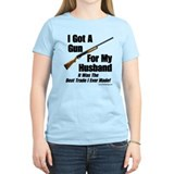 """Shotgun For My Husband"" Women's Tee"