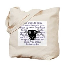 Sheep are persuasive Tote Bag