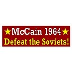 McCain 1964: Defeat the Soviets bumper sticker