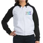 Obama Hebrew Script Women's Raglan Hoodie
